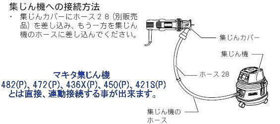 マキタ 防じんボードトリマ 3706BSK