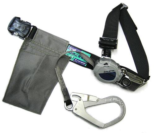 藤井電工 胴ベルト型安全帯/1本つり専用(巻取り式) TRL-OT593