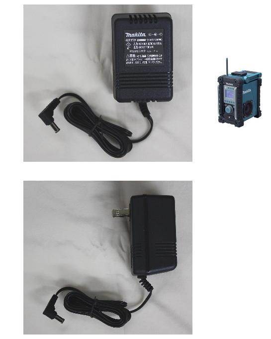 マキタ 充電式ラジオMR100用 ACアダプタ