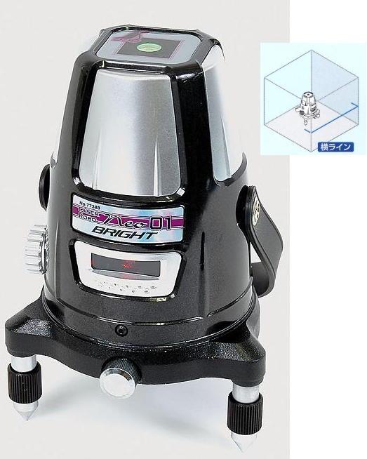 シンワ レーザー墨出し器 LaserRobo neo01 Bright 77388