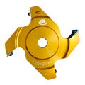 アサノ式チェンジカッター 替刃式三面仕上カッター 交互リード刃 120mm×21mm×4P