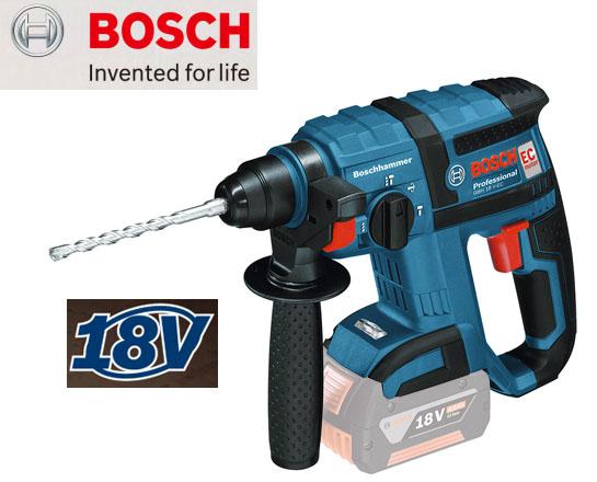 BOSCH 18Vバッテリーハンマードリル GBH18V-ECH