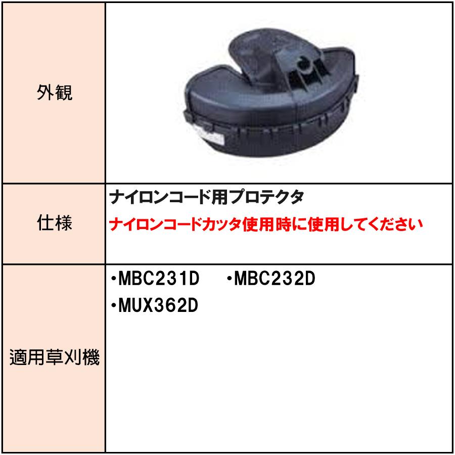 マキタ プロテクタ(ナイロンコード用) A-51655