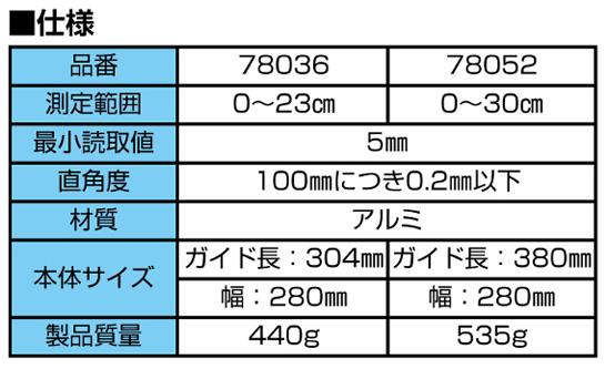 シンワ 丸ノコガイド定規 エルアングル フィット
