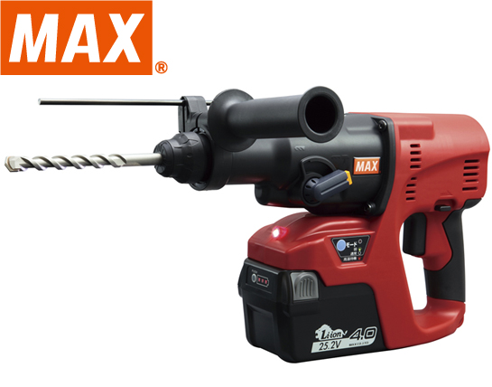 MAX 25.2V充電式ハンマドリル PJ-R265