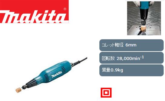マキタ ミニグラインダ GD0603