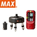 MAX レーザ自動追尾台+受光器 LA-NV1/D5NV (セット)