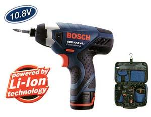 BOSCH 10.8Vインパクトドライバ GDR10.8V-Li