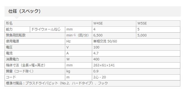 日立 ボード用ドライバ 5mm W5SE