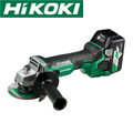 HiKOKI  18V-6.0Ah コードレスディスクグラインダ(ブレーキ付) G18DBBVL