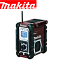 マキタ 充電式ラジオ MR108AR(限定色レッド)