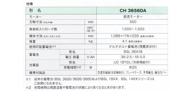 日立 マルチボルト36Vコードレス植木バリカン CH3656DA