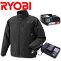 リョービ 充電式ヒートジャケット+電池パック+充電器セット