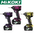 HiKOKI  36V コードレスインパクトドライバ WH36DA【限定カラーセット】