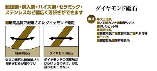 アイウッド 焼結ダイヤモンド砥石(砥石台付)