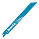 マキタ レシプロソーブレード BIM61(5枚入り) 鉄・ステンレス用・ダクト・デッキプレート A-58110