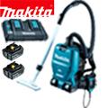 マキタ 充電式背負いクリーナーVC260DZ 6.0Ahバッテリー2個&充電器付きフルセット