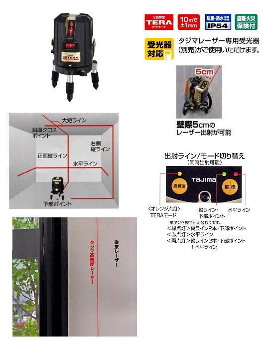 タジマ TERAレーザー GT3R-Xi