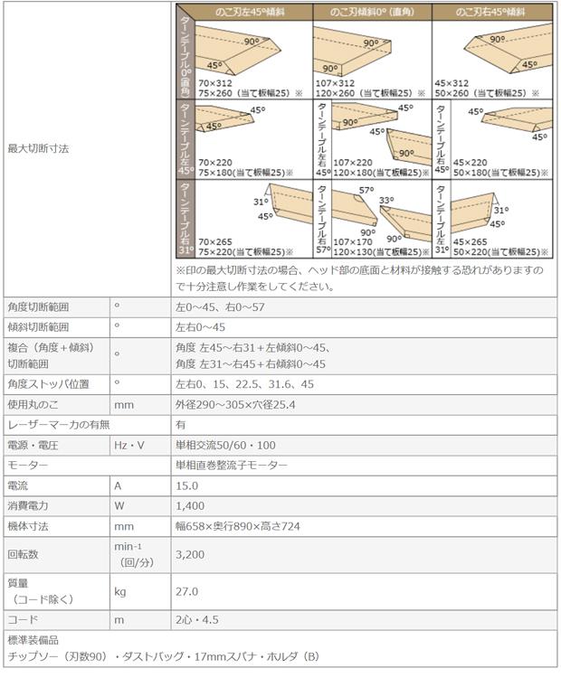 日立 卓上スライド丸ノコ C12RSH2