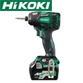HiKOKI コードレス静音インパクトドライバ WHP18DBL