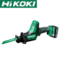 HiKOKI 10.8VコードレスセーバソーCR12DA