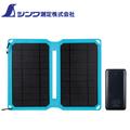 シンワ LEXIA用ソーラーパネル付モバイルバッテリ78370